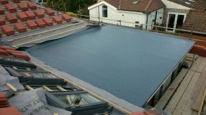 Fibreglass Roofing Project
